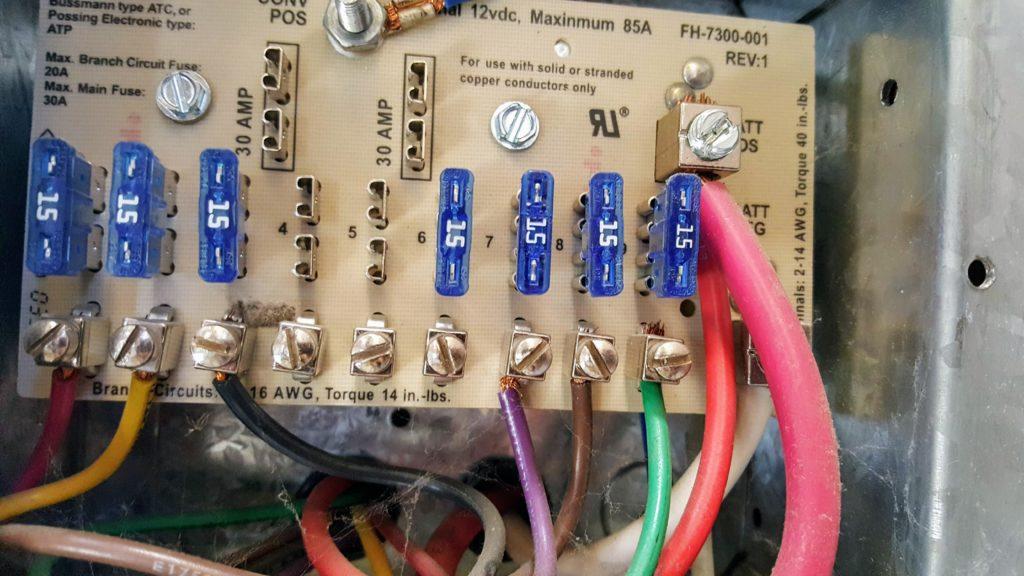 Parallax 7300 Wiring Diagram