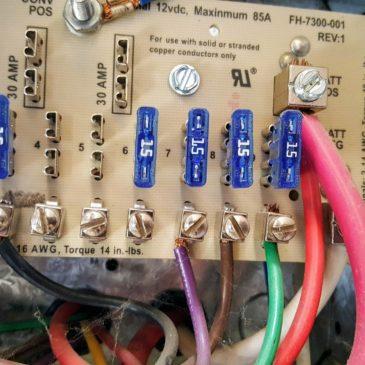 Replacing a Parallax 7355 RV Power Converter